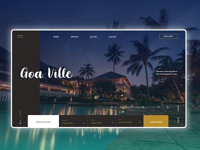 Hotel Booking Website Design UI UX Mockup travel app room booking room hotel booking hotel app mobile app design uiux ux ui app design website webdesign mockup mockups