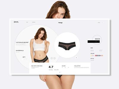 Woman lingerie Selling Website Mockup uiux ui logo app design branding vector website webdesign mockups