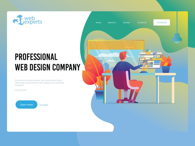 3iweb Website Mockups by NILESH THORATH on Dribbble