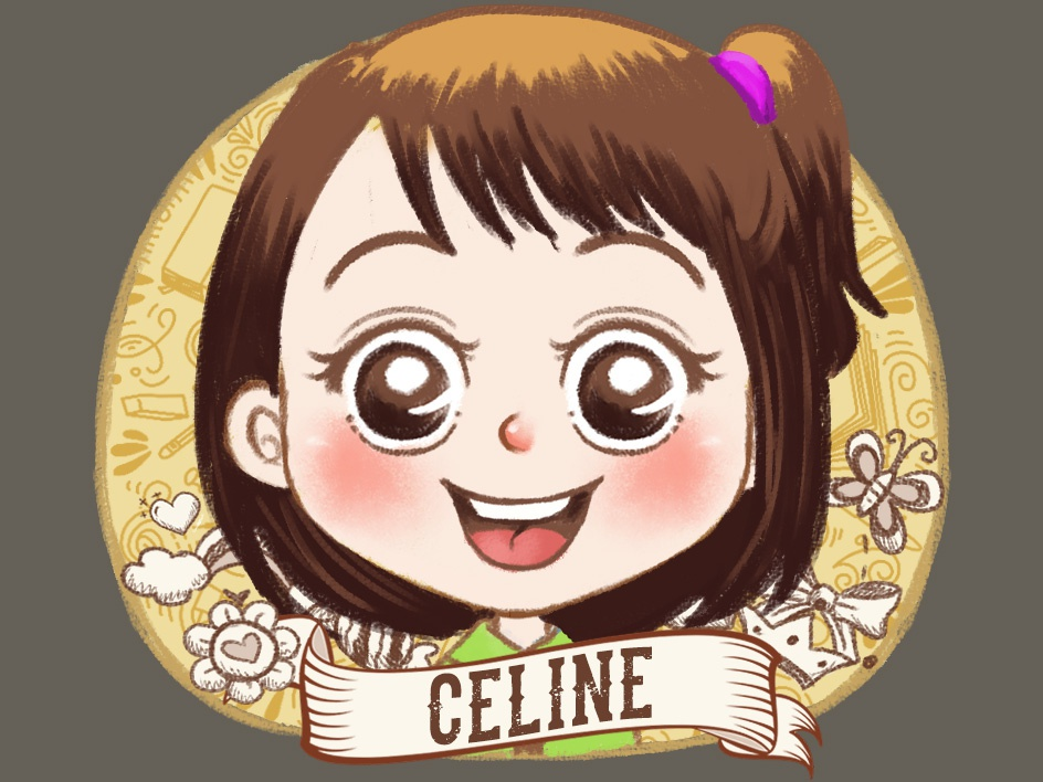 Girl Mug Illustration typography childrenart cartoon character caricature illustration
