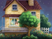 Coloring House for Children Book