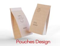 Pouch Design logotype design brochure template logos brochure logodesign brochure design animation icon logo packaging design packagedesign packaging pouch design