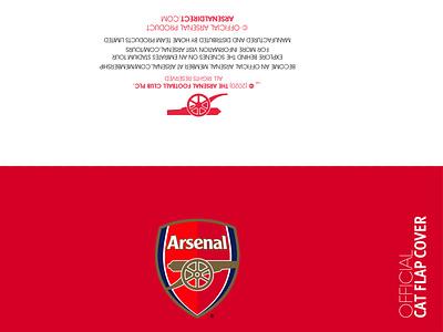 Official header card for arsenal brochure template logos brochure minimal brochure layout branding logodesign brochure design animation icon logo