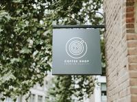 coffee shop premium quality board mockup 53876 65876