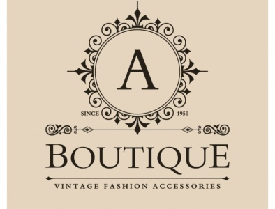 vintage boutique logo 1057 438