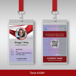 i WILL DO Stylish id card design