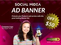SOCIAL MEDIA AD BANNER