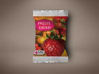 Foil Pack packaging and label design