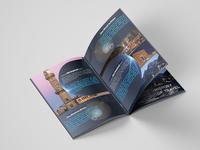 Company Brochure with Mockup Design