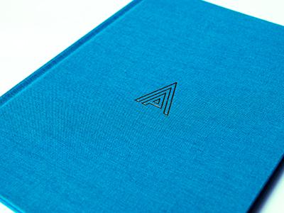 Foil deboss... yacht logo deboss book foil gold brochure cover hardback mark