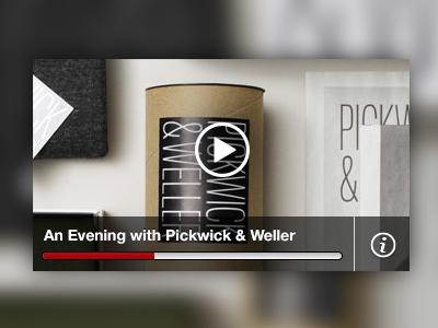 Netflix Design Presents: An Evening with Pickwick & Weller