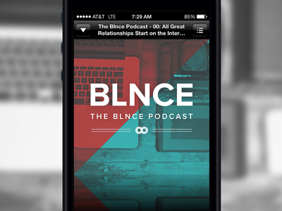 The BLNCE (bal·ance) Podcast Live