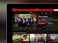 Netflix iPad Billboard