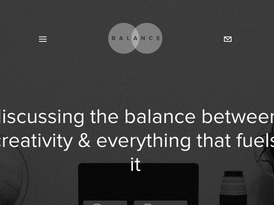 New Balance (Not the Shoe)