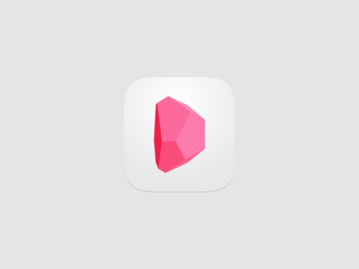 Joining Design Inc launcher pink ios icon