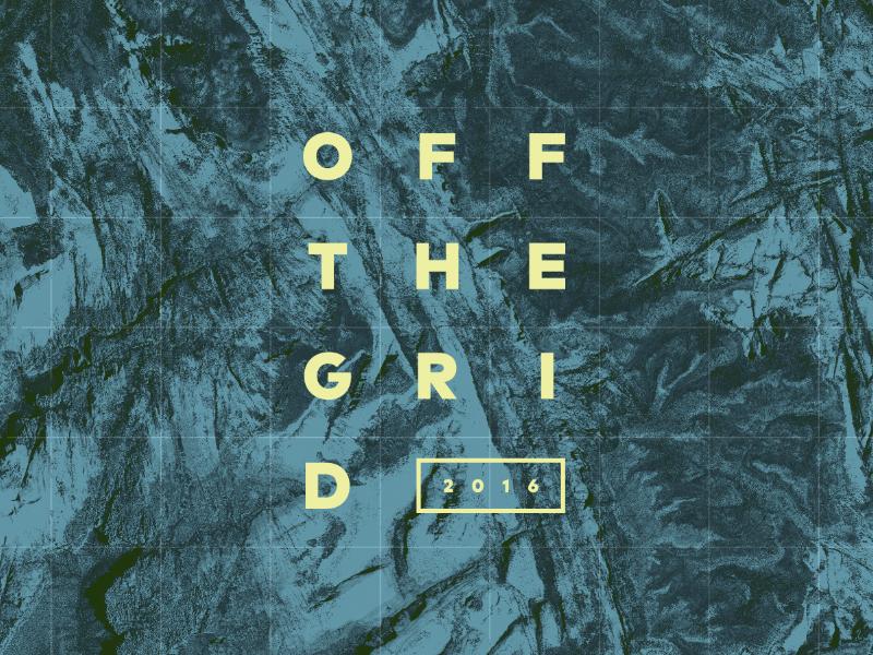 Off the Grid by Design Inc texture otg2016 grid maps adventure utah conference design inc