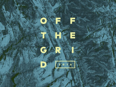 Off the Grid by Design Inc texture otg2016 grid maps adventure utah conference design inc