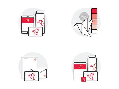 Design Inc Logo & Identity Illustrations