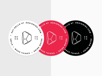 Design Inc Stickers