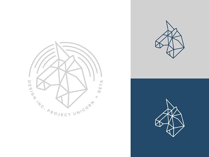 Design Inc. Project Unicorn line geode geometry seal unicorn