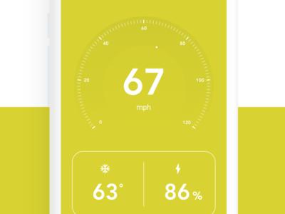 VW ID Buzz App ux ui app design vehicle autonomous auto self driving climate control material temperature mobile android