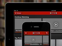 Netflix GUI