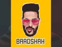 Badshah vector logo
