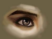 Eye painting