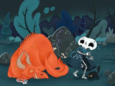Strange adventures of the Skeleton Lurio