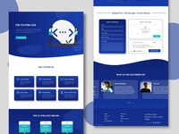 PSD to HTML Conversion Website