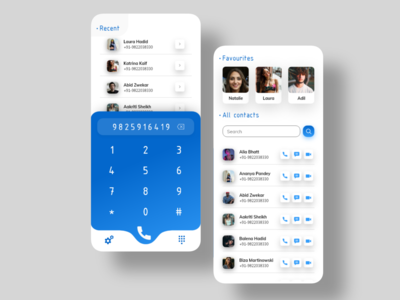 Contact and Call Screen userexperiencedesign minimalist minimal appdesigner figmadesign uxdesigns uxdesigner uxdesignmastery figma adobexd appdesigns appdesigning appdesign userexperience uxdesign