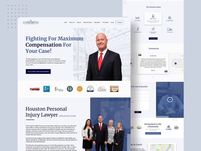 Website for a law firm. law webdesigns webpagedesign homepage squarespace wix wordpress webdesigner websitedesigner websitedesign lawwebsite lawfirm