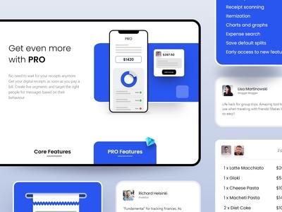 Website Design Exploration clean design minimal website component component library interfacedesign mobile ui website builder website concept websitestyle website design websites website ui component
