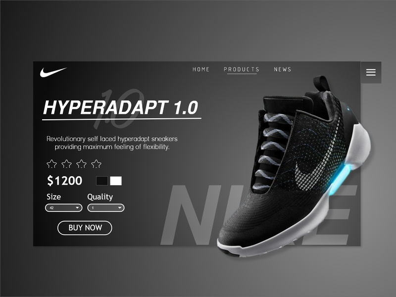 Nike Landing Page