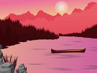 Alone Night. ui design uidesign web art digital art illustration design illustration art illustration