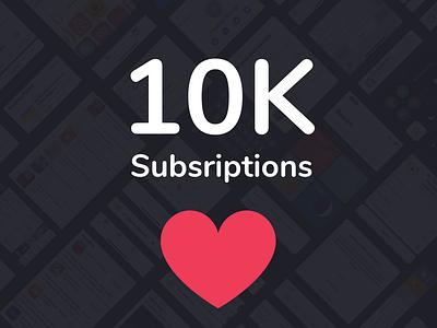10K Subscriptions <3 50% OFF app kit uiux ios figma sketch invision uimarkets uidesign gui creative design app adobe app design design adobexd wireframe prototype uikit ui mockups