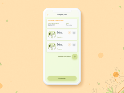 Vida Sana (healthy app concept) interface app design healthyfood food app app elegant uxdesign uiux ux food healthy inspiration uidesign ui