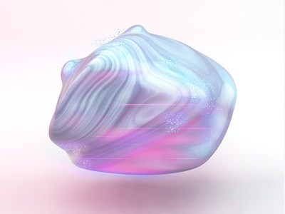 Precious Gems gradient render cinema4d gem stone