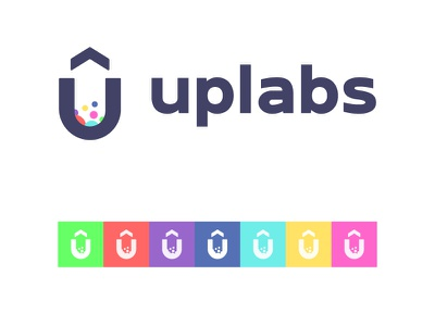 UPLABS Identity work web labs logo branding identity uplabs