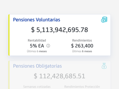Saldos Consolidados appdesign materialui material interace cards app bank uidesign ui account