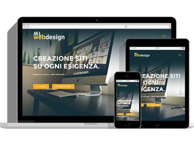 ML Web Design Company Web Site Concept
