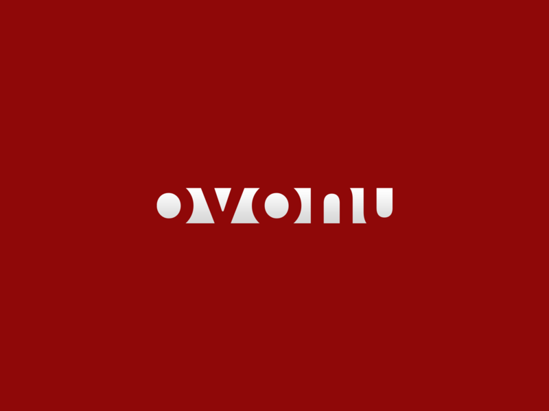 Ovonu Logo Concept and Branding vector logo design branding