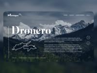 Montagna Website Concept
