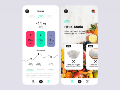 Lifestyle App Design