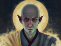 Dragon Age Solas Fan Art