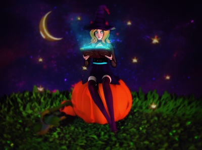 Little Witch Render
