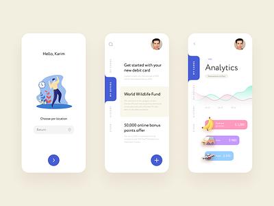 Дизайн UI банковского продукта bank ios mobile finance app ux ui design