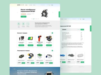 Online store development development web ui ux design