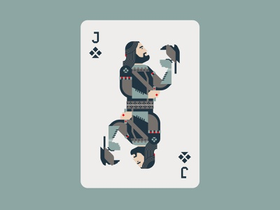 Jack Of Clubs playing card poker clubs jack playing cards minimal graphic flat illustrator design illustration