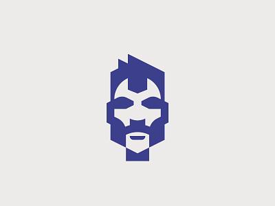 Wrench man logotype man wrench flat vector minimal graphic illustrator design illustration logo